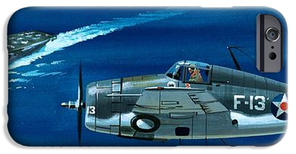 Airplane iPhone 6s Case - Grumman F4rf-3 Wildcat by Wilf Hardy