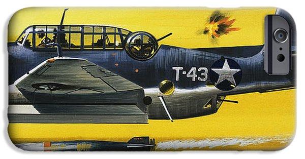 Grummen Tbf1 Avenger Bomber IPhone 6s Case by Wilf Hardy