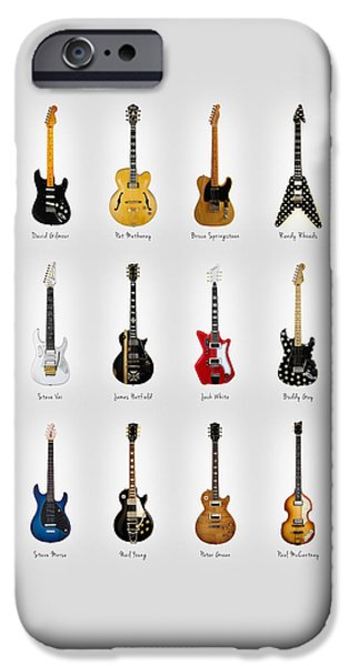 Guitar Icons No2 IPhone 6s Case by Mark Rogan