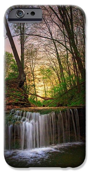 Beaver iPhone 6s Case - Gypsy Glen  Rd Waterfall  by Emmanuel Panagiotakis