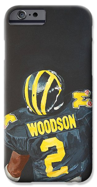 Football iPhone 6s Case - Hail Yes by Travis Day