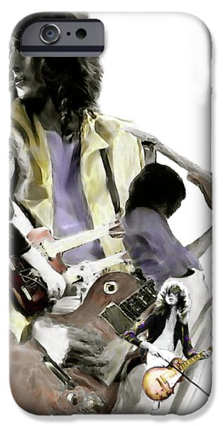 Hammer Of The Gods   Jimmy Page IPhone 6s Case by Iconic Images Art Gallery David Pucciarelli