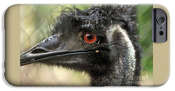 Emu iPhone 6s Case - Handsome by Kaye Menner