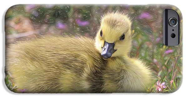 Gosling iPhone 6s Case - Happy Easter To You by Donna Kennedy
