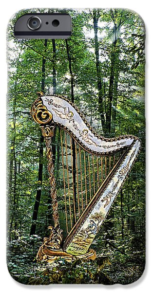 Harp In The Woods IPhone 6s Case