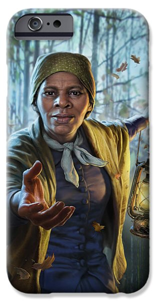 Train iPhone 6s Case - Harriet Tubman by Mark Fredrickson