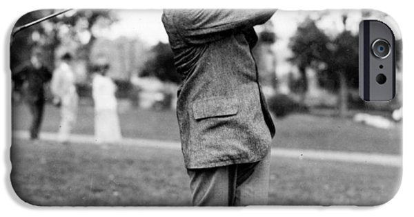 Harry Vardon - Golfer IPhone 6s Case by International  Images
