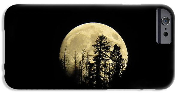 IPhone 6s Case featuring the photograph Harvest Moon by Karen Shackles