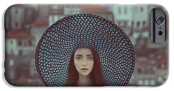 Portraits iPhone 6s Case - Hat And Houses by Anka Zhuravleva