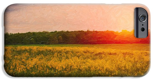 Rural Scenes iPhone 6s Case - Heartland Glow by Tom Mc Nemar