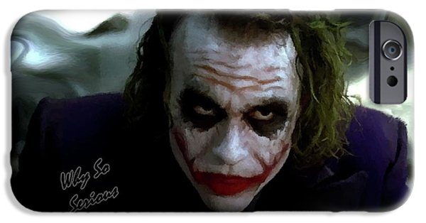 Heath Ledger Joker Why So Serious IPhone 6s Case