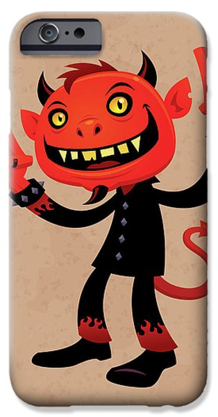 Heavy Metal Devil IPhone 6s Case
