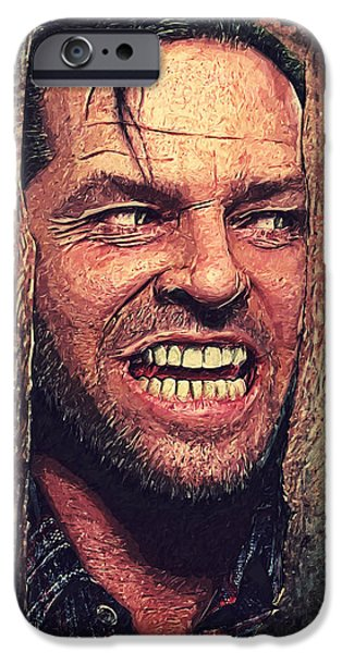 Here's Johnny - The Shining  IPhone 6s Case by Taylan Apukovska