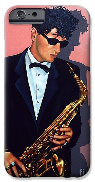 Saxophone iPhone 6s Case - Herman Brood by Paul Meijering