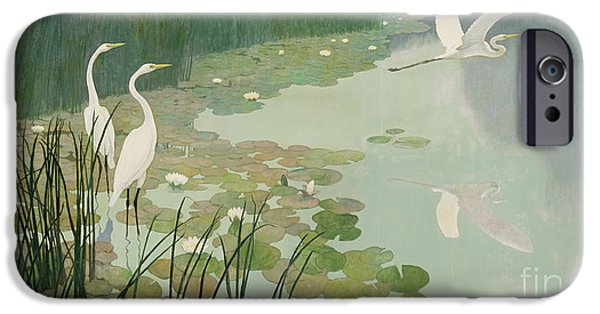 Herons In Summer IPhone 6s Case by Newell Convers Wyeth
