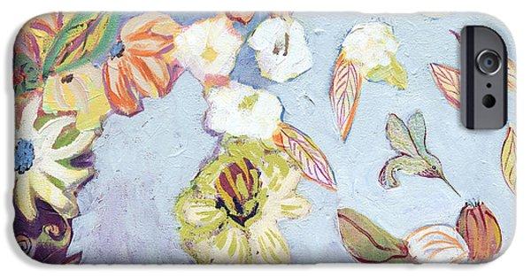 Hummingbird iPhone 6s Case - Hidden Lagoon Part I by Jennifer Lommers