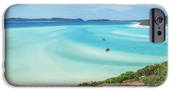 Teal iPhone 6s Case - Hill Inlet Lookout by Az Jackson