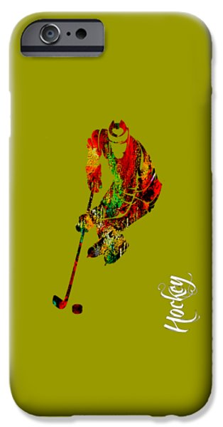 Hockey Collection IPhone 6s Case by Marvin Blaine