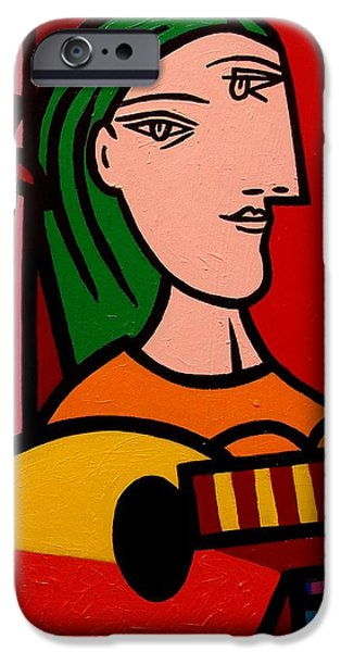 Homage To Picasso IPhone 6s Case