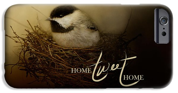 Home Tweet Home With Words IPhone 6s Case by Jai Johnson