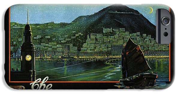 Hong Kong - The Riviera Of The Orient - Vintage Travel Poster IPhone 6s Case