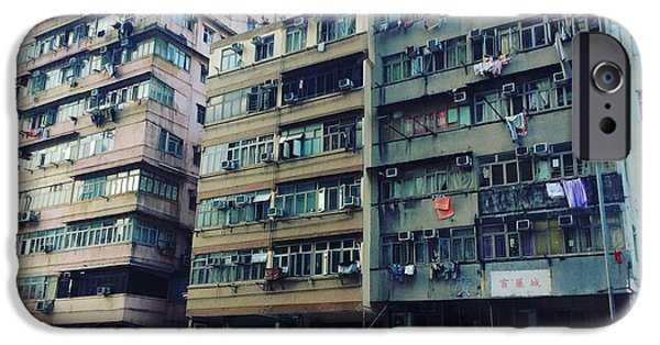 iPhone 6s Case - Houses Of Kowloon by Florian Wentsch