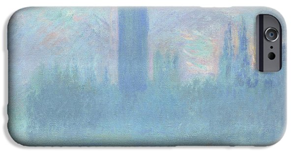 Houses Of Parliament  London IPhone 6s Case by Claude Monet