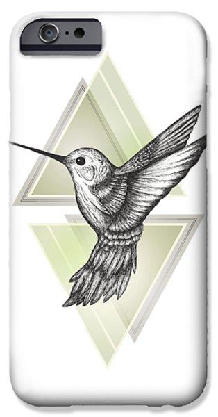 Hummingbird IPhone 6s Case by Barlena