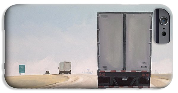 Truck iPhone 6s Case - I-55 North 9am by Jeffrey Bess