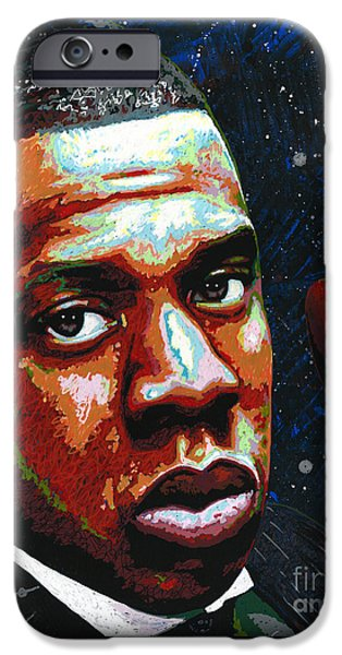 I Am Jay Z IPhone 6s Case by Maria Arango