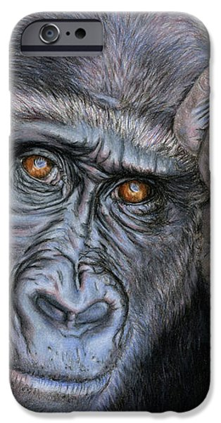 Ape iPhone 6s Case - I Think Therefore I Am by Sarah Batalka