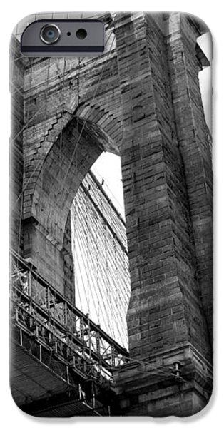 Brooklyn Bridge iPhone 6s Case - Iconic Arches by Az Jackson