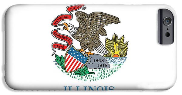 Illinois State Flag IPhone 6s Case