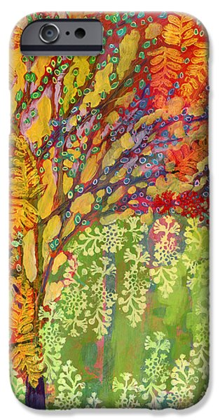 Contemporary iPhone 6s Case - Immersed In Summer Part 2 Of 3 by Jennifer Lommers