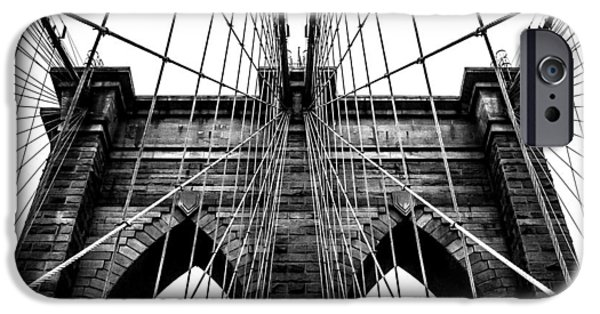 Brooklyn Bridge iPhone 6s Case - Imposing Arches by Az Jackson