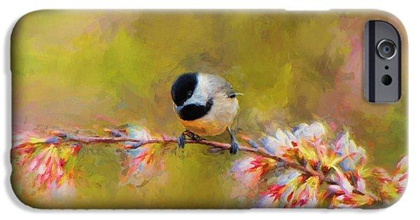 Impressionist Chickadee IPhone 6s Case