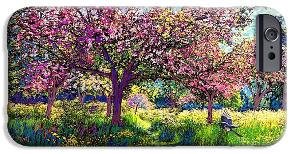 In Love With Spring, Blossom Trees IPhone 6s Case by Jane Small