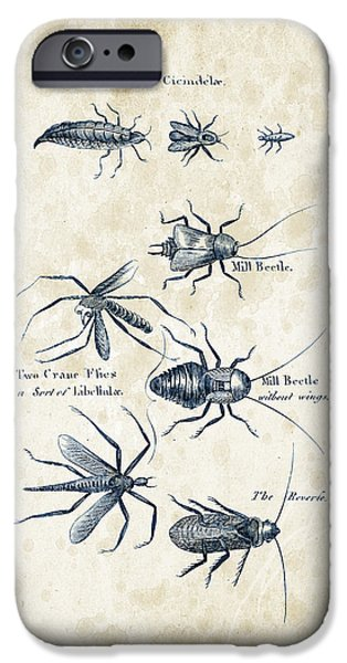Insects - 1792 - 10 IPhone 6s Case by Aged Pixel