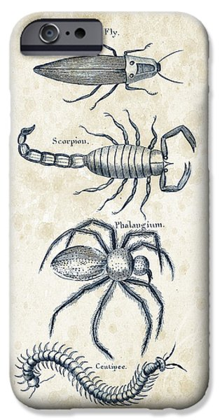 Insects - 1792 - 19 IPhone 6s Case by Aged Pixel