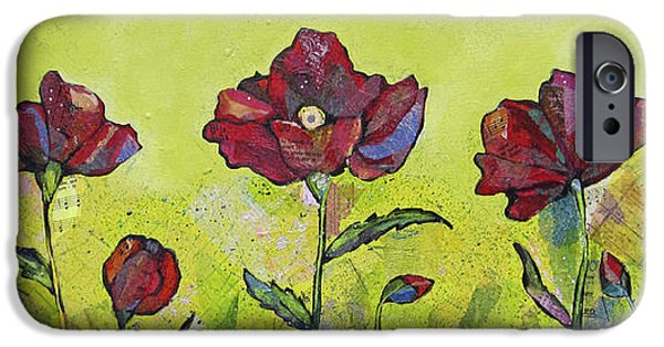 Scarlet iPhone 6s Case - Intensity Of The Poppy I by Shadia Derbyshire