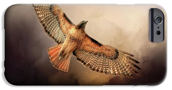 Buzzard iPhone 6s Case - Into The Light by Donna Kennedy