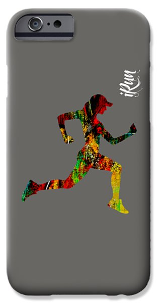 iRun Fitness Collection IPhone 6s Case by Marvin Blaine