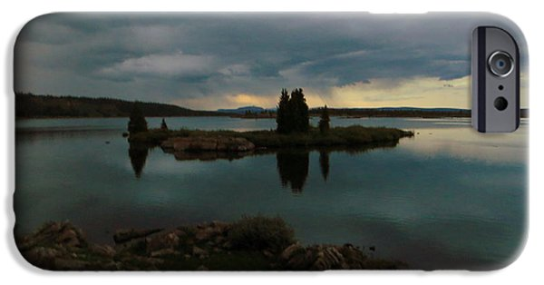 IPhone 6s Case featuring the photograph Island In The Storm by Karen Shackles