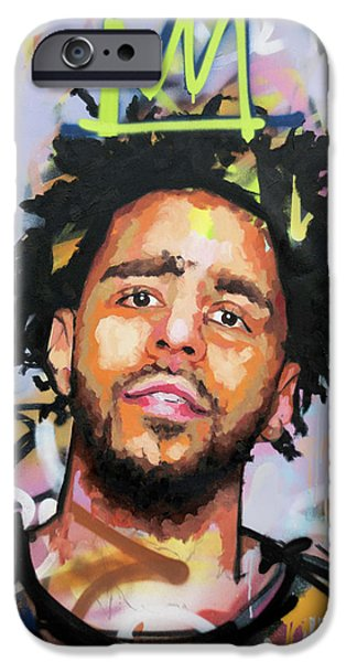 J Cole IPhone 6s Case by Richard Day