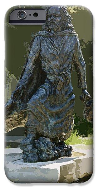 Marquette iPhone 6s Case - Jacques Marquette Sculpture by Art Spectrum