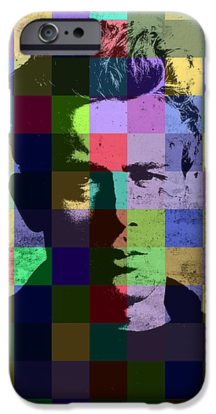 James Dean Actor Hollywood Pop Art Patchwork Portrait Pop Of Color IPhone 6s Case