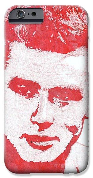 James Dean Pop Art IPhone 6s Case by Mary Bassett