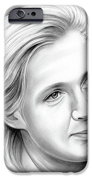 Ape iPhone 6s Case - Jane Goodall by Greg Joens