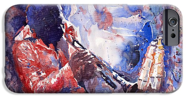 Jazz Miles Davis 15 IPhone 6s Case by Yuriy  Shevchuk