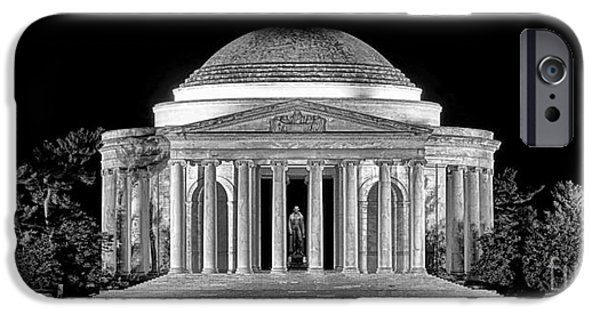 Jefferson Memorial Lonely Night IPhone 6s Case by Olivier Le Queinec